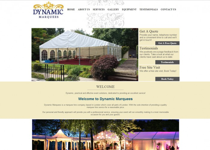 Dynamic Marquees